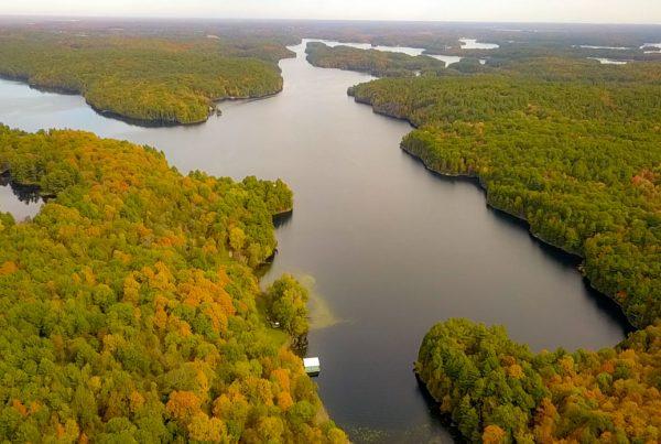 Charleston Lake Aerial